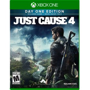 just cause 4 day one edition  Xbox one