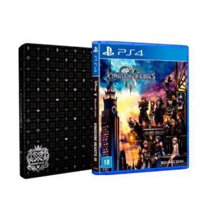 kingdom hearts 3 stelbook ps4