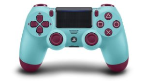 Controle ps4 slim barry blue ( dualshock 4 slim )