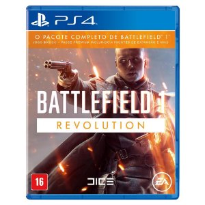 Battlefield 1 Pacote Completo PS4
