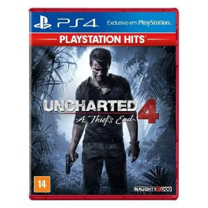 Uncharted 4 A thiefs End PS4 hits
