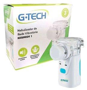 Open Box - Inalador e Nebulizador de Rede Vibratória G-Tech