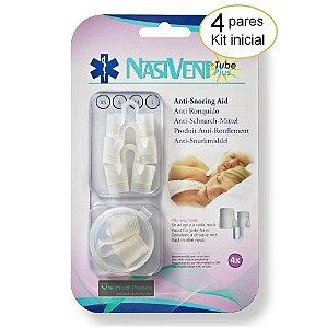 Dilatador Nasal Nasivent Tube Plus Kit Inicial - Anti Ronco
