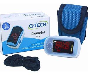 Oxímetro G-TECH - Visor LED - Alta Precisão - Alto Contraste - Fácil Leitura