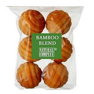 Sachê Perfumado Bolinha de Madeira Bamboo Blend - 6 unid.