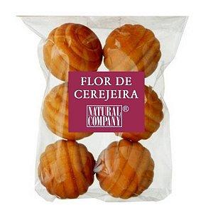 Sachê Perfumado Bolinha de Madeira Flor de Cerejeira-6 unid.