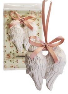 Sachê Perfumado Gesso Asas de Anjo Flor de Cerejeira