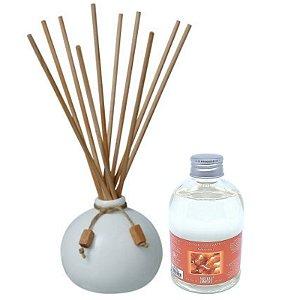 Aromatizador Para Ambiente Exuberance Cerâmica - Extrato Âmbar Real 315 ml