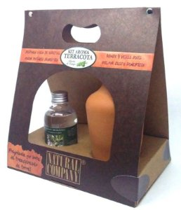 Kit Aroma Terracota Alecrim do Campo 120 ml.