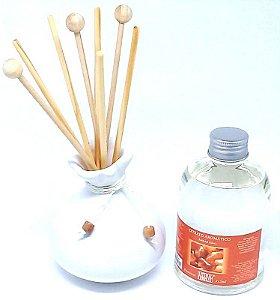 Aromatizador Para Ambiente Little Bag Cerâmica Branca - Extrato 315 ml.