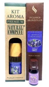 Kit Aroma Premium Lavanda Francesa-Nota Primavera-4 Produtos