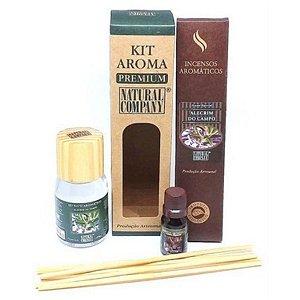 Kit Aroma Premium Alecrim do Campo-Nota de Verão-4 Produtos