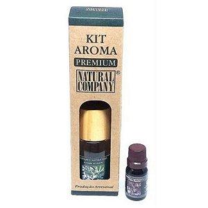 Kit Aroma Premium Alecrim do Campo-Nota de Verão-3 Produtos