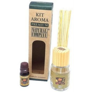 Kit Aroma Premium Madeira Especiarias-Nota Verão-3 Produtos