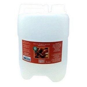 Água Perfumada Âmbar Real-Equilíbrio e Harmonia-5 litros