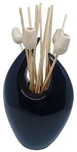 Aromatizador Difusor New Way - Cerâmica Preta 350 ml