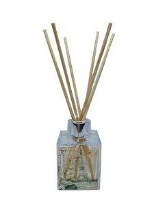 Aromatizador Difusor Le Cube Paris - Vidro 100 ml + Varetas de Madeira