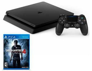 PlayStation 4 Slim 500GB + Uncharted