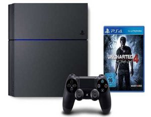 PlayStation 4 TB + Uncharted 4