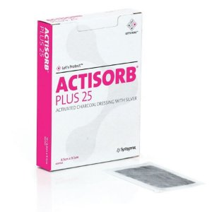 ACTISORB Plus 25 - Cobertura de carvão ativado com prata
