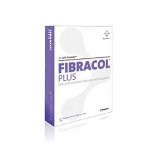 Curativo - Systagenix Fibracol Plus - Cobertura 90% de Colágeno e 10% de Alginato de Cálcio