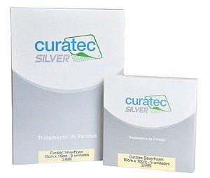 Curatec SilverFoam - Espuma com prata que absorve e combate a infecção com conforto