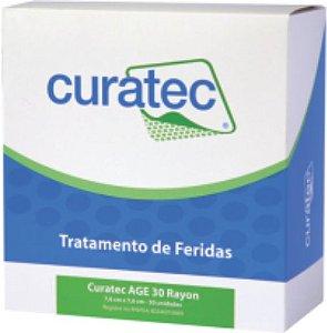 Curatec AGE 30 Rayon - Curativo não aderente que estimula a cicatrização