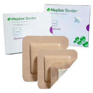 MEPILEX® BORDER 10 x 20 cm - Caixa com 5 unidades