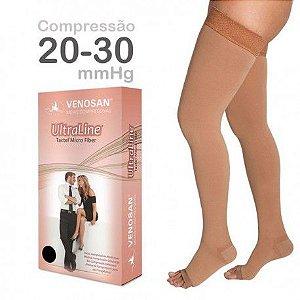 VENOSAN ULTRALINE 4000 COMP. 20-30 mmhg  7/8 (Meia Coxa)