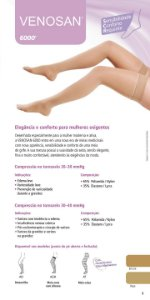 VENOSAN 6000 COMP. 20-30 mmhg  Pé Aberto (Meia Coxa)