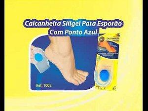 CALCANHEIRA SILIGEL COM PONTO AZUL