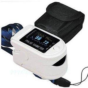 Oxímetro De Pulso Adulto Infantil Portátil Digital Contec CMS-50D - Pronta Entrega