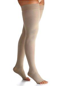 Meia Sigvaris Select Comfort, 20-30 mmHg, 7/8 Meia Coxa Cor: Bege