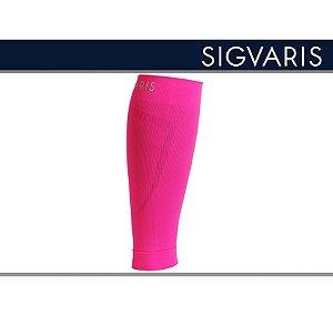 Polaina Esportiva Sigvaris 20-30 mmHg Pulse Road Rosa Neon
