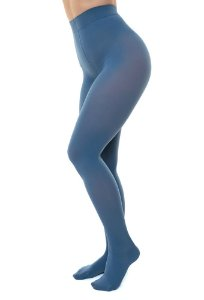 Meia Calça Sigvaris Select Comfort, 20-30 mmHg, cor: Azul