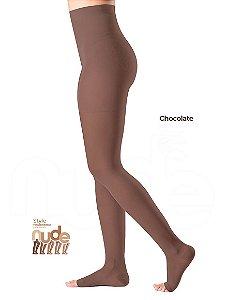 Meia Sigvaris Ever Sheer Nude, 20-30 mmHg, Meia Calça, Cor: Chocolate