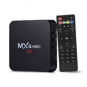 Conversor Smart TV Box MXQ 4K Ultra HD Wi-Fi Android HDMI
