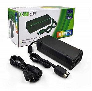 FONTE PARA XBOX 360 SLIM 2 PINOS BIVOLT 110V 220V