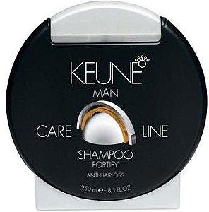 KEUNE MAN Care Line Shampoo Fortify 250ml - Controle da Queda