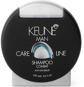 KEUNE MAN Care Line Shampoo Combat 250ml - Controle de Caspa