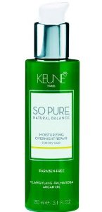 KEUNE SO PURE MOISTURIZING OVERNIGHT REPAIR 150ML - TRATAMENTO NOTURNO