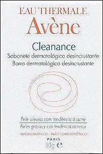 AVÈNE Cleanance Sabonete Barra Dermatológica Desincrustante 100gr