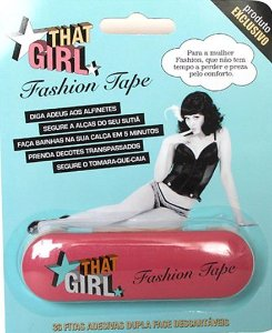 THAT GIRL FASHION TAPE C/36 - FITAS ADESIVAS DUPLA FACE DESCARTÁVEIS