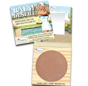 THE BALM BALM DESERT - BLUSH E BRONZER