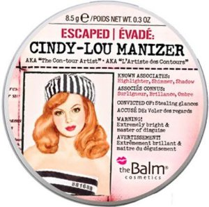 THE BALM Cindy Lou Manizer Highlighter, Shimmer and Shadow