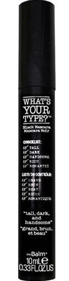 THE BALM What's Your Type? Tall, Dark And Handsome - Mascara