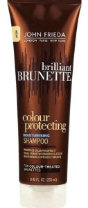 JOHN FRIEDA Brilliant Brunette Colour Protecting Moisturising Shampoo 250ml
