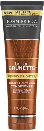 JOHN FRIEDA BRILLIANT BRUNETTE VISIBLY BRIGHTER CONDICIONADOR 245ML