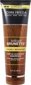 JOHN FRIEDA Brilliant Brunette Visibly Brighter Subtle Lightening Shampoo 245ml