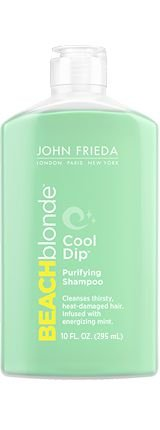 JOHN FRIEDA BEACH BLOND COOL DIP PURIFYING SHAMPOO 295ML